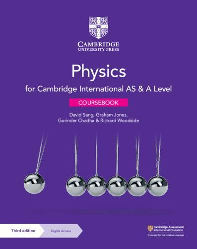 Cambridge International AS & A Level Physics Coursebook with Digital Access (2 Years) By by David Sang